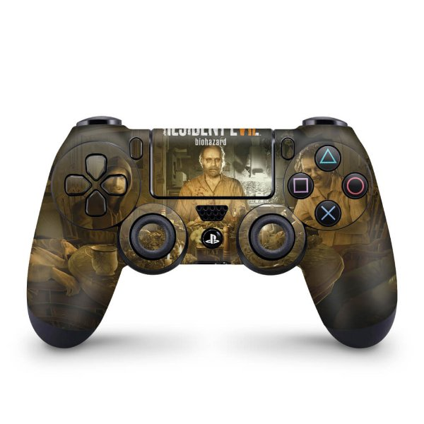 Skin PS4 Controle - Resident Evil 7: Biohazard