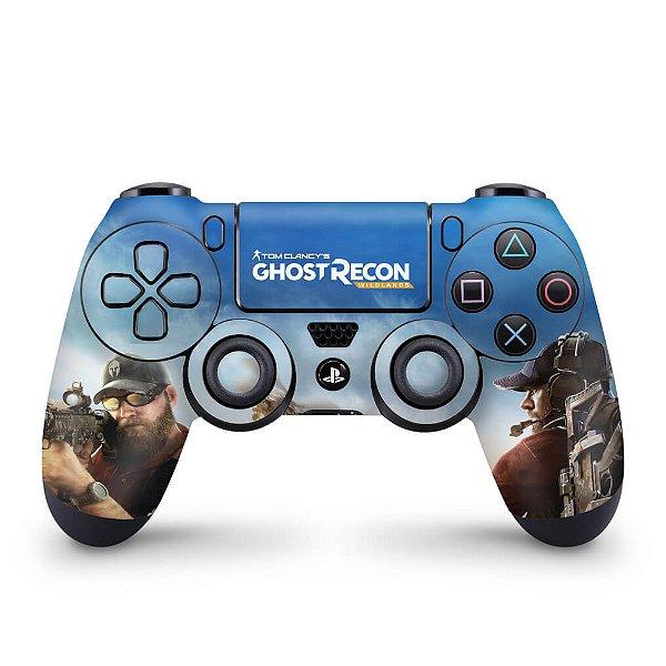Skin PS4 Controle - Tom Clancy's Ghost Recon Wildlands