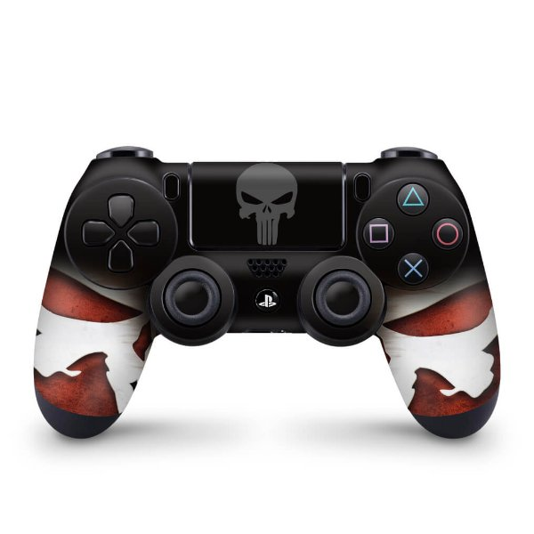 Skin PS4 Controle - The Punisher Justiceiro