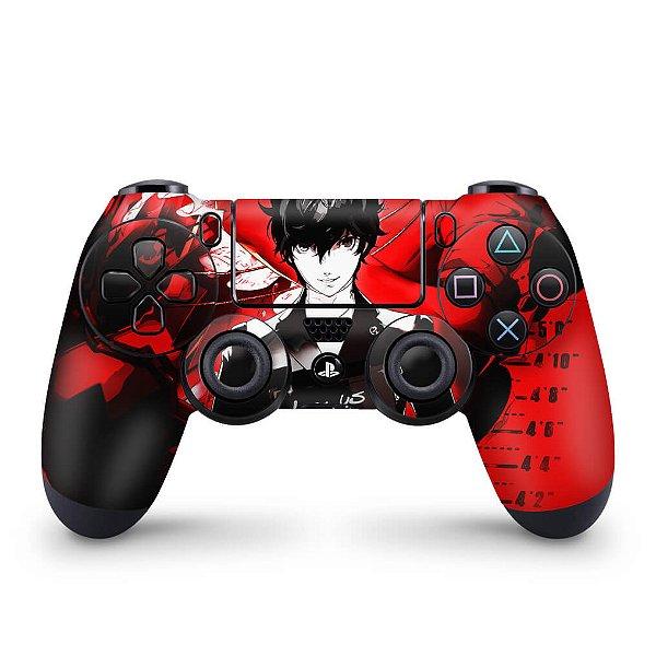 Skin PS4 Controle - Persona 5