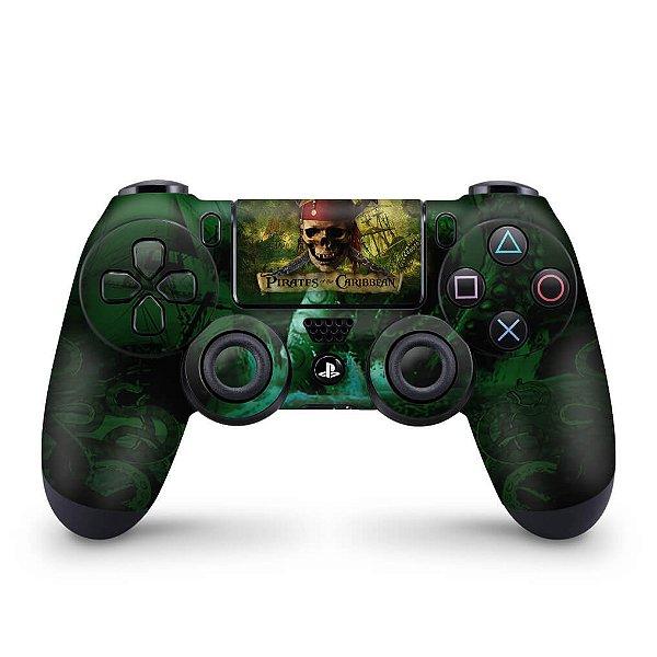 Skin PS4 Controle - Piratas do Caribe