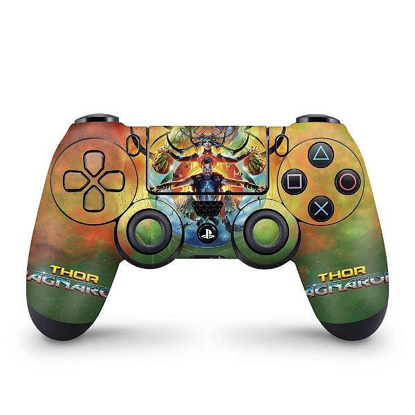 Skin PS4 Controle - Thor Ragnarok