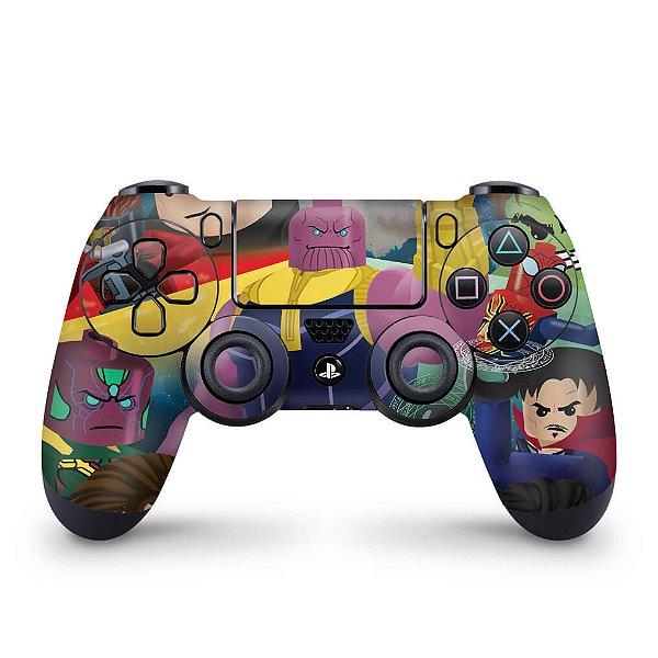 Skin PS4 Controle - Lego Avengers Vingadores