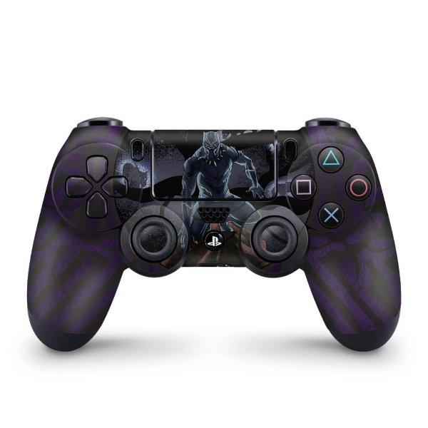 Skin PS4 Controle - Pantera Negra