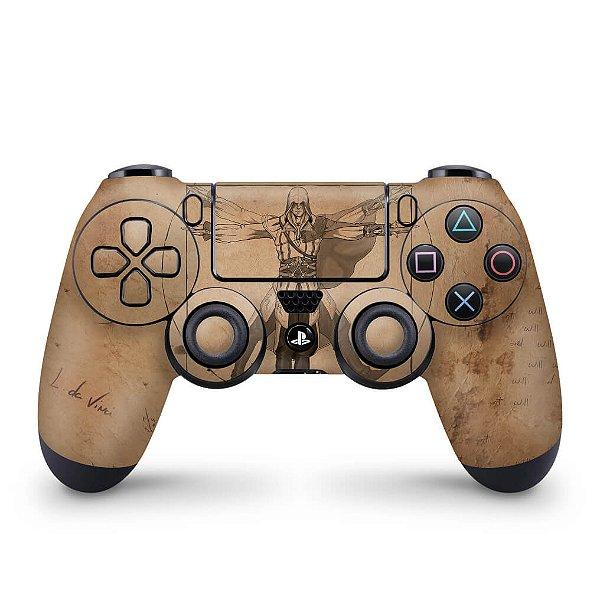 Skin PS4 Controle - Assassin's Creed Vitruviano