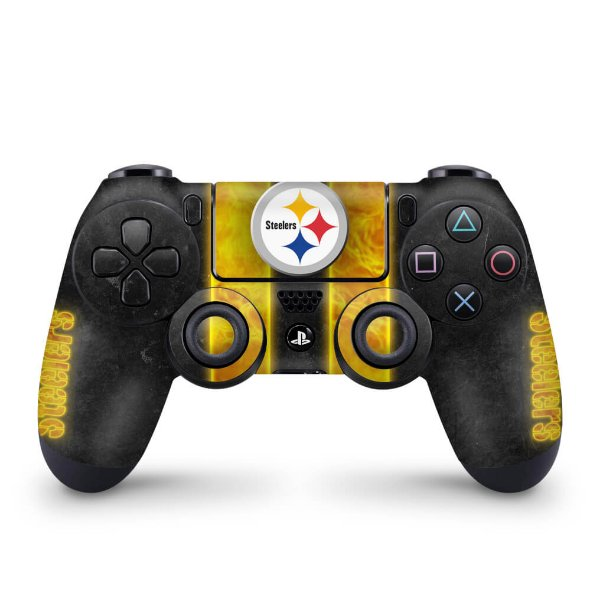 Skin PS4 Controle - Pittsburgh Steelers - NFL