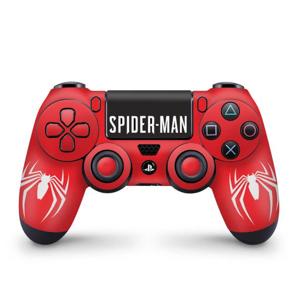 Skin PS4 Controle - Spider Man