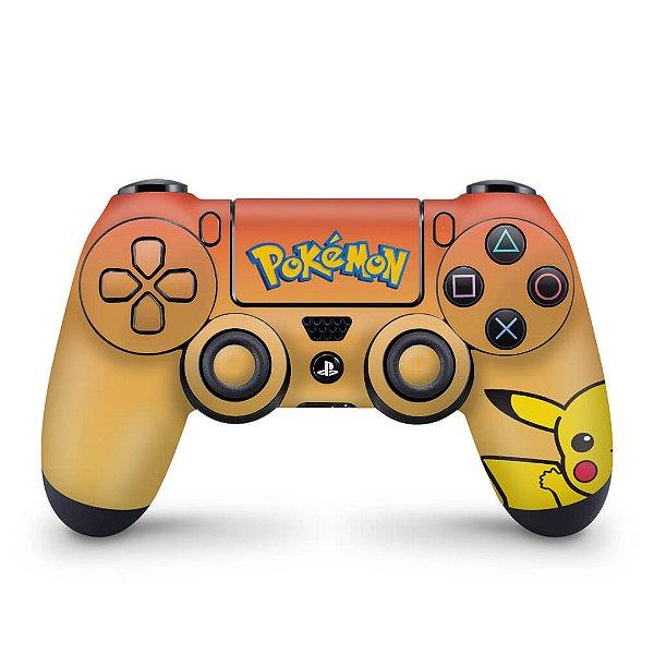 Skin PS4 Controle - Pokemon Pikachu