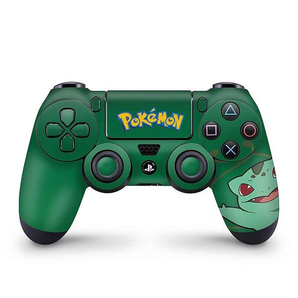 Skin PS4 Controle - Pokemon Bulbasaur