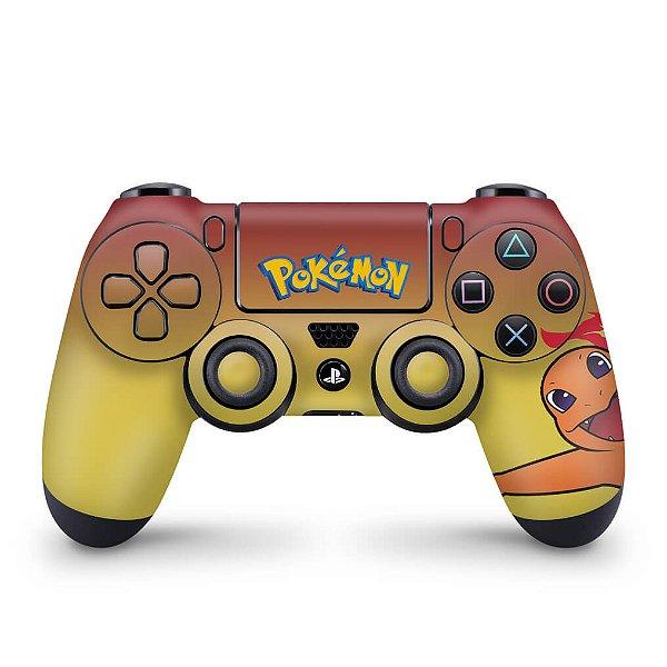 Skin PS4 Controle - Pokemon Charmander