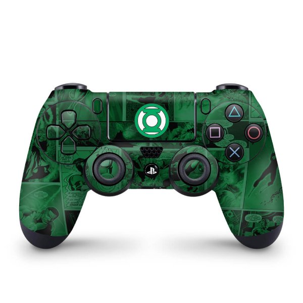 Skin PS4 Controle - Lanterna Verde Comics