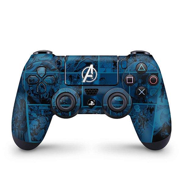 Skin PS4 Controle - Avengers Vingadores Comics