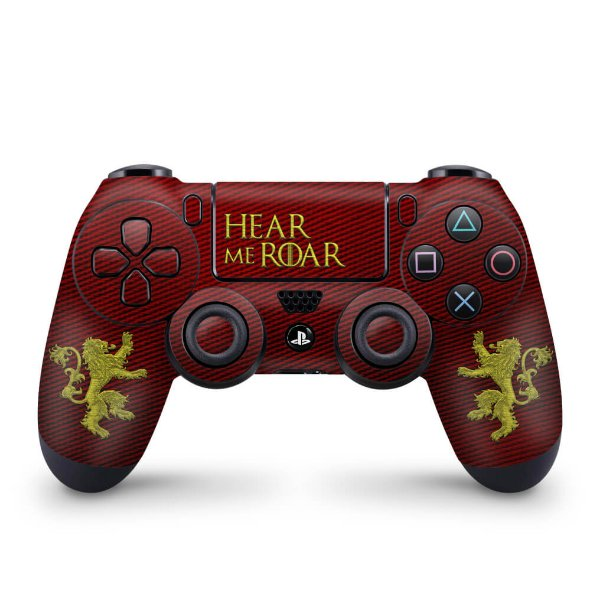 Skin PS4 Controle - Game Of Thrones Lannister