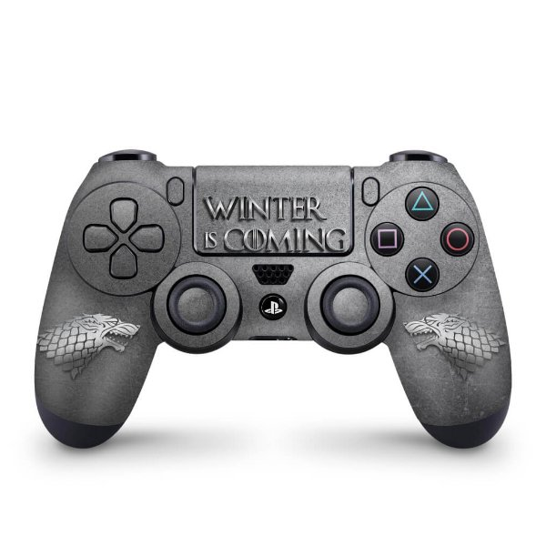 Skin PS4 Controle - Game Of Thrones Stark