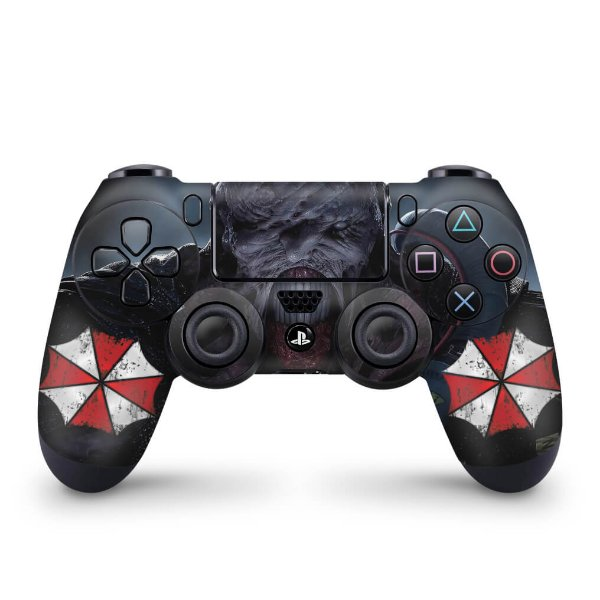 Skin PS4 Controle - Resident Evil 3 Remake
