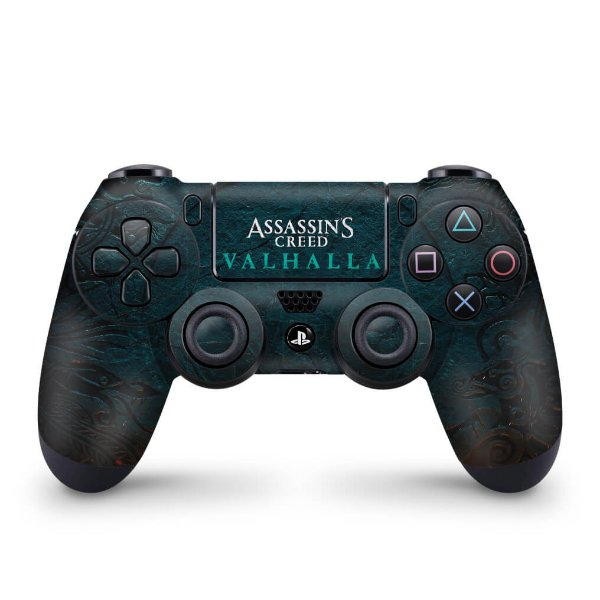 Skin PS4 Controle - Assassin's Creed Valhalla
