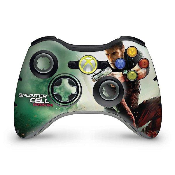 Skin Xbox 360 Controle - Splinter Cell Conviction
