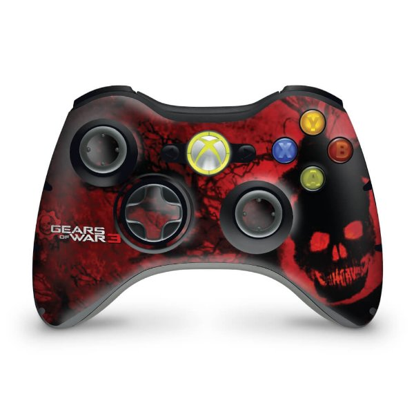 Skin Xbox 360 Controle - Gears Of War 3