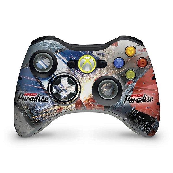 Skin Xbox 360 Controle - Burnout Paradise