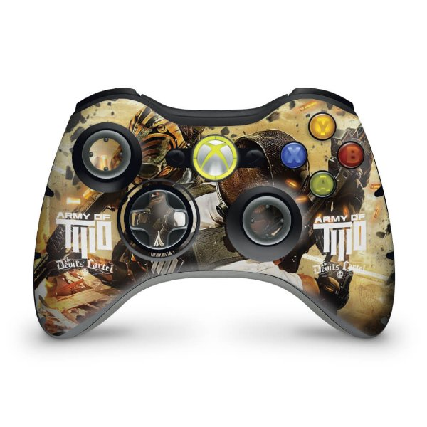 Skin Xbox 360 Controle - Army Of Two