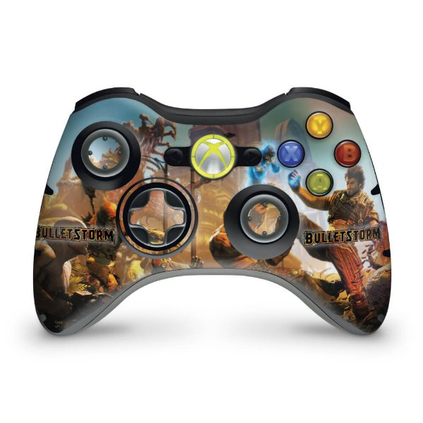 Skin Xbox 360 Controle - Bulletstorm