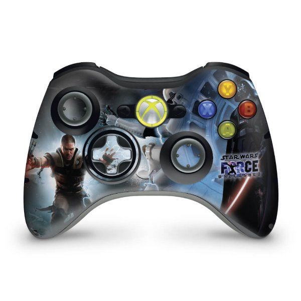 Skin Xbox 360 Controle - Star Wars The Force