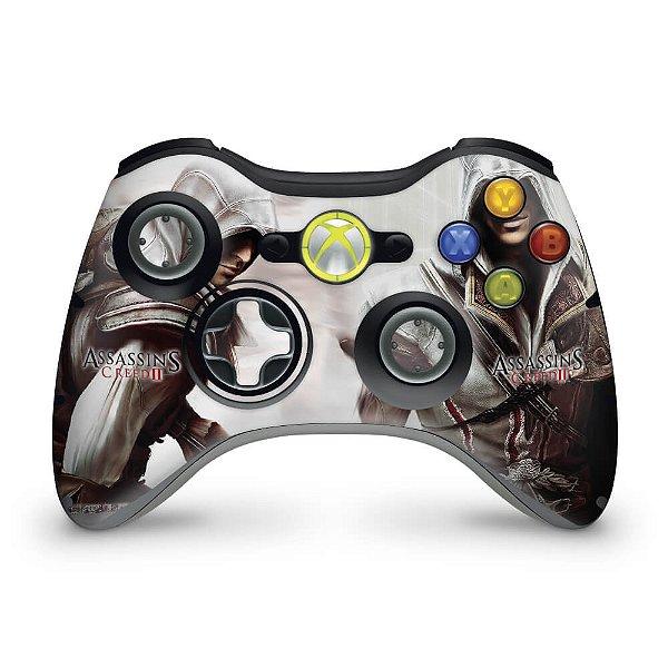 Skin Xbox 360 Controle - Assassins Creed 2
