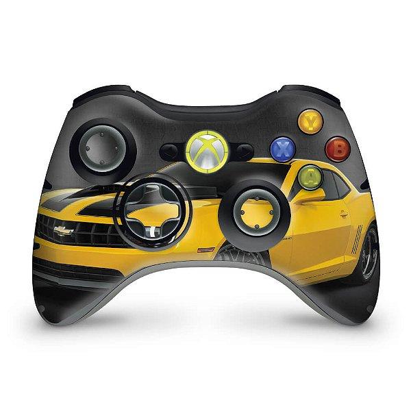 Skin Xbox 360 Controle - Transformers Camaro