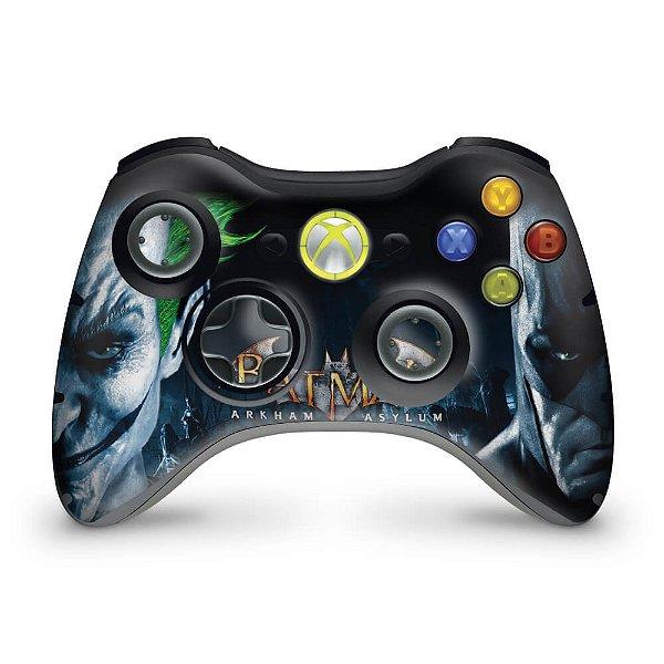 Skin Xbox 360 Controle - Batman Arkham Asylum