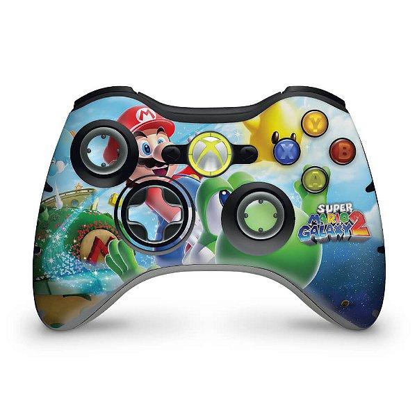 Skin Xbox 360 Controle - Super Mario