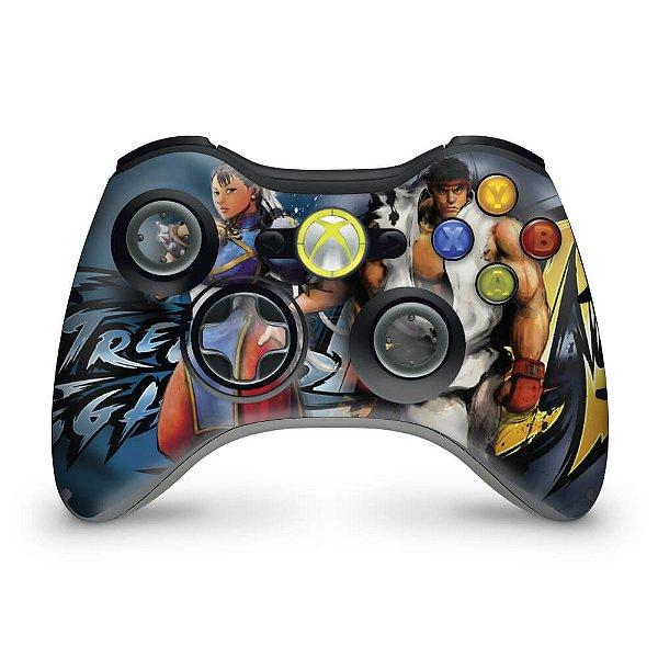 Skin Xbox 360 Controle - Street Fighter 4 #b