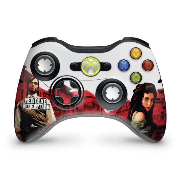 Skin Xbox 360 Controle - Red Dead Redemption