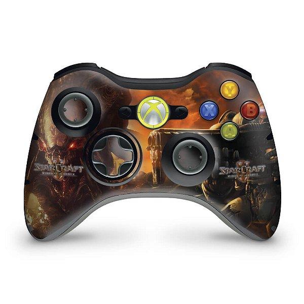 Skin Xbox 360 Controle - Starcraft 2
