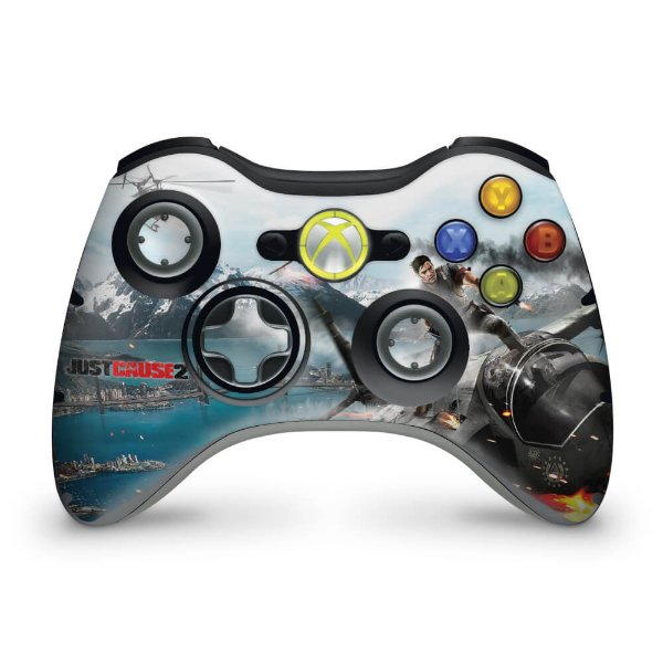 Skin Xbox 360 Controle - Just Cause 2