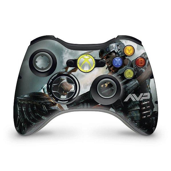 Skin Xbox 360 Controle - Aliens Vs Predators