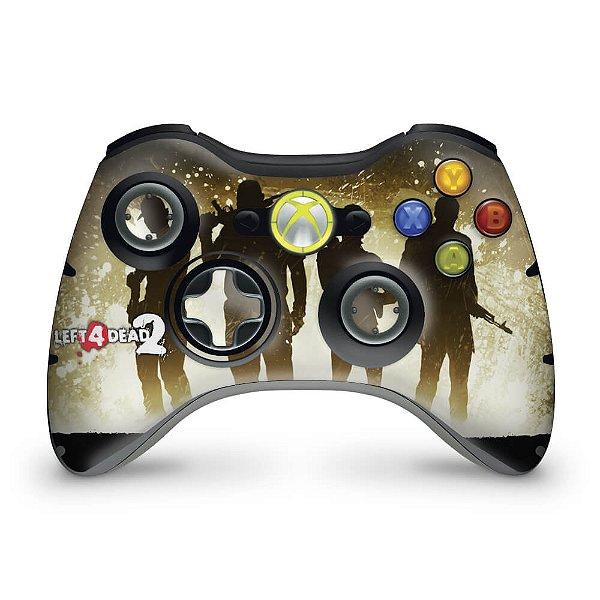 Skin Xbox 360 Controle - Left 4 Dead 2