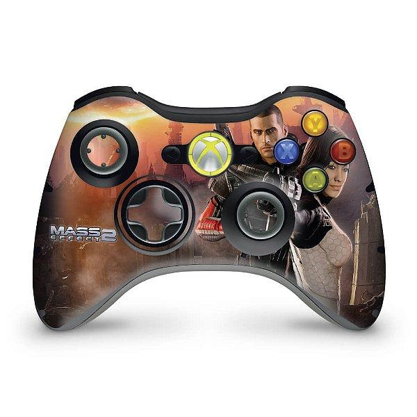 Skin Xbox 360 Controle - Mass Effect 2