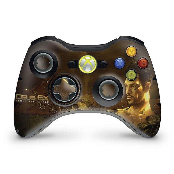 Skin Xbox 360 Controle - Deus Ex