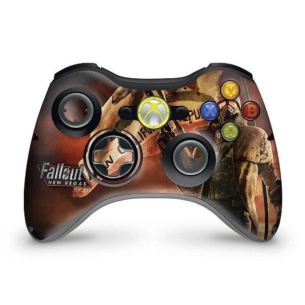 Skin Xbox 360 Controle - Fallout New Vegas