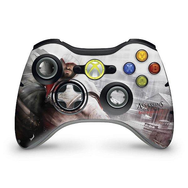 Skin Xbox 360 Controle - Assassins Creed Brotherwood #B