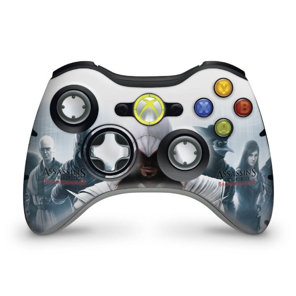 Skin Xbox 360 Controle - Assassins Creed Brotherwood #C