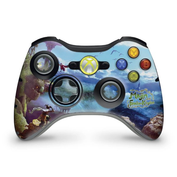 Skin Xbox 360 Controle - Majin Forsaken