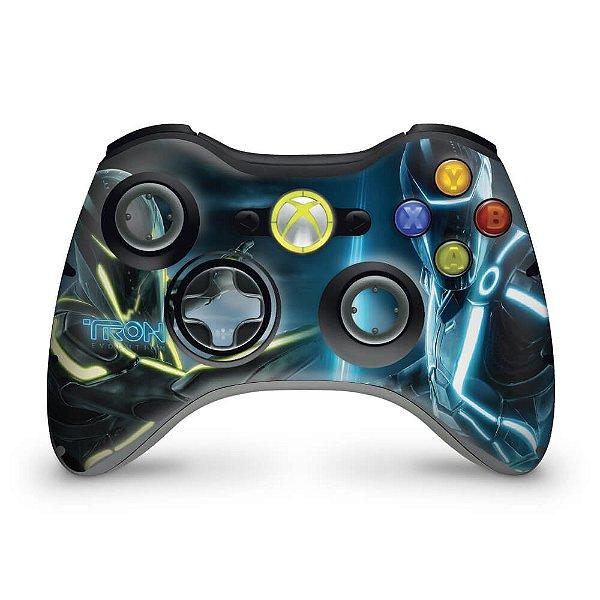 Skin Xbox 360 Controle - Tron