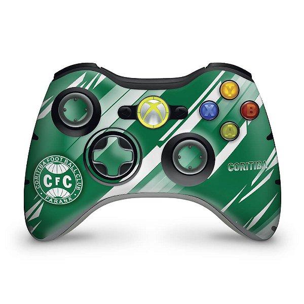Skin Xbox 360 Controle - Coritiba