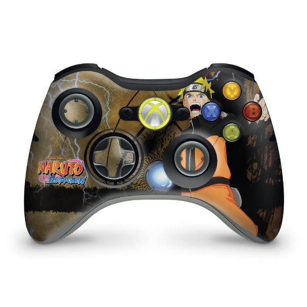 Skin Xbox 360 Controle - Naruto