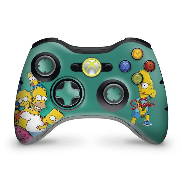 Skin Xbox 360 Controle - Simpsons