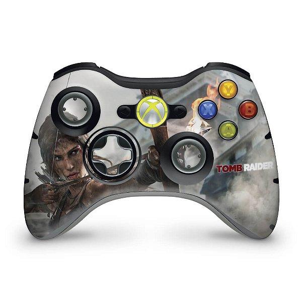 Skin Xbox 360 Controle - Tomb Raider