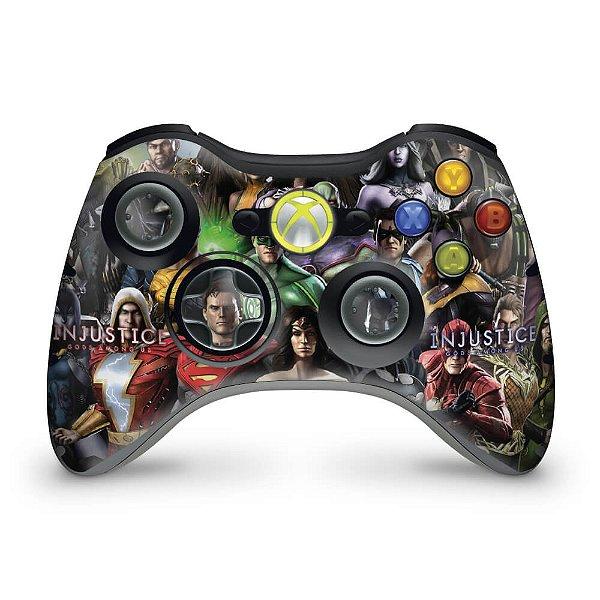 Skin Xbox 360 Controle - Injustice