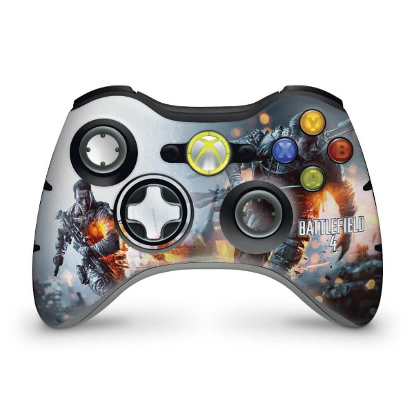 Skin Xbox 360 Controle - Battlefield 4
