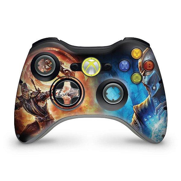 Skin Xbox 360 Controle - Mortal Kombat